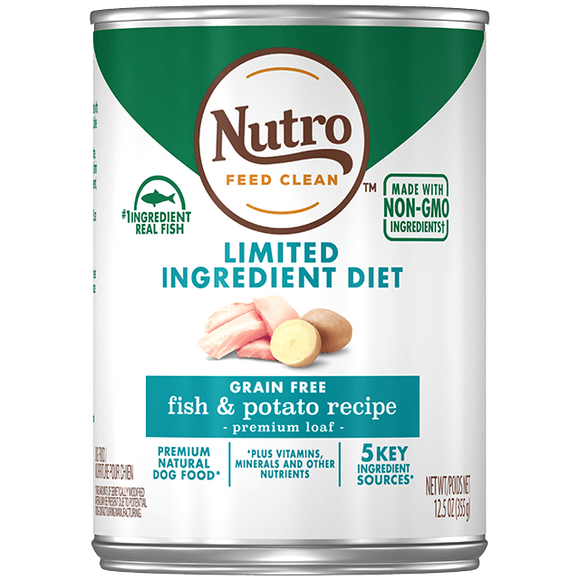 Nutro Fish & Sweet Potato 12.5oz Can