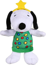 Load image into Gallery viewer, Peanuts Holiday Plush Toy 6""