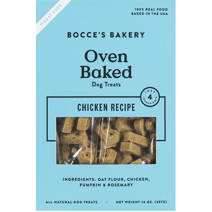 Bocce's Bakery Oven Baked Treats