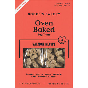 "Bocce's Bakery Oven Baked Treats ""The Basics Menu"""