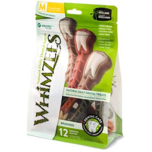 Whimzees Brushzees Medium Value Pack