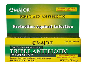 Triple Antibiotic Ointment 1 oz tube for Skin / Topical