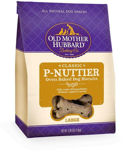 P-Nuttier Large Biscuits 3lb 5oz OMH