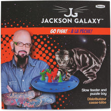 Load image into Gallery viewer, Jackson Galaxy Go Fish Cat Toy / Feeder