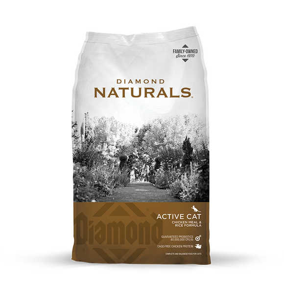 Diamond Naturals Active Cat 18lb. Bag