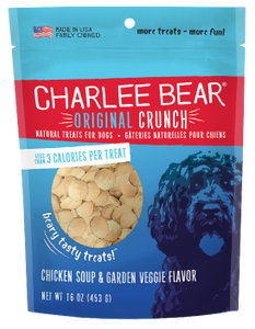 Charlee Bear Chicken Soup Treats 16oz