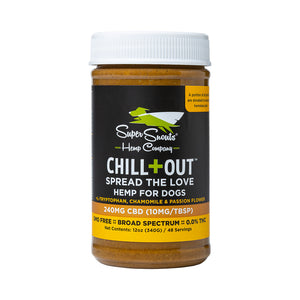 Chill+Out CBD Peanut Butter, Super Snouts