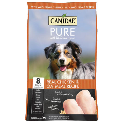 Canidae Pure with Wholesome Grains Real Chicken and Oatmeal Formula