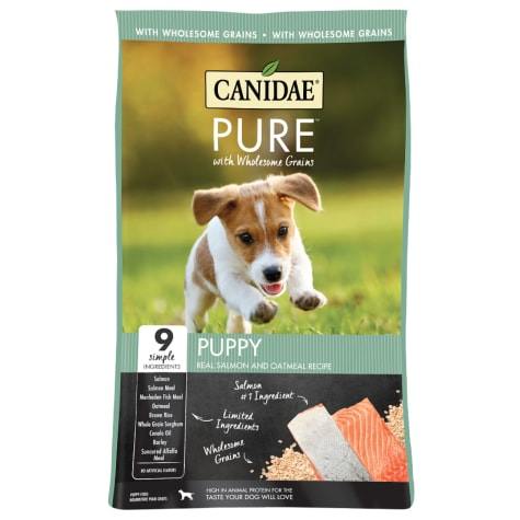 Candidae Pure with Wholesome Grains Puppy Salmon and Oatmeal Formula