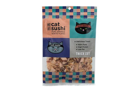Cat Sushi Bonito Flakes Thick Cut 0.7oz