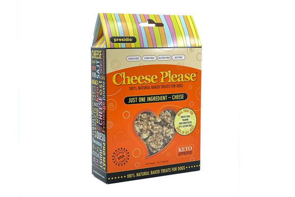Cheese Please! Natural Dog Treats 7oz
