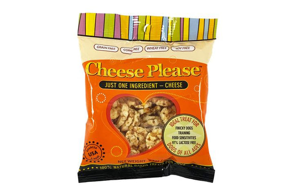 Cheese Please! Natural Dog Treats 1.7oz