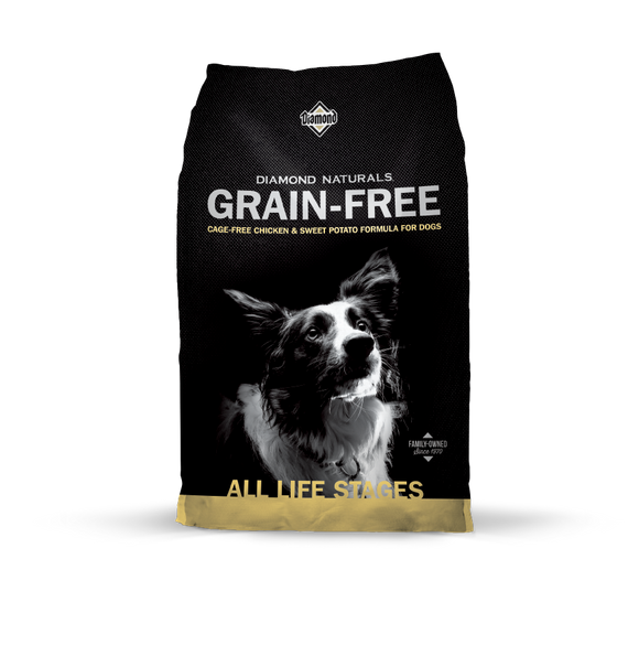 Diamond Nat. Grain Free Chicken 28#