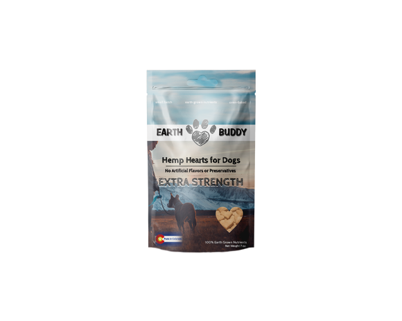 Hemp Hearts for Dogs Extra Stength 7oz