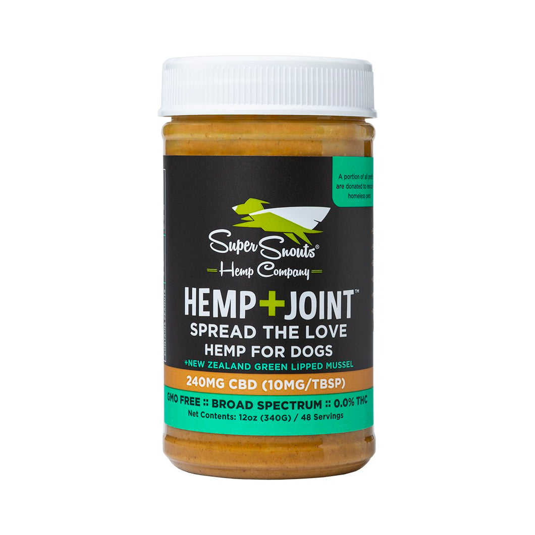 Hemp+Joint CBD Peanut Butter, Super Snouts
