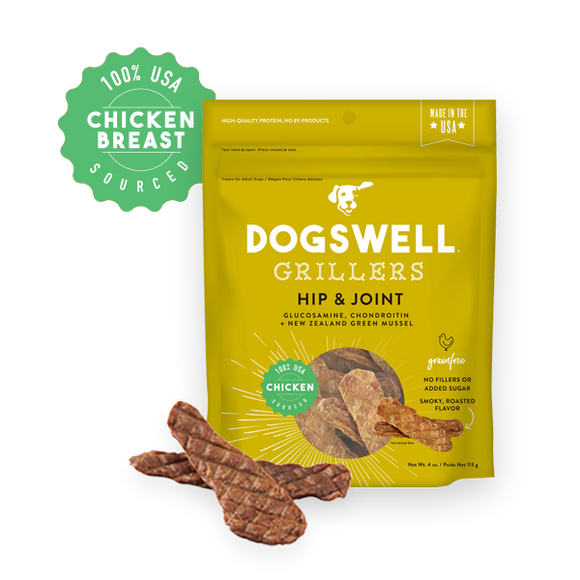 Dogswell Grillers Hip & Joint Chicken 12 oz