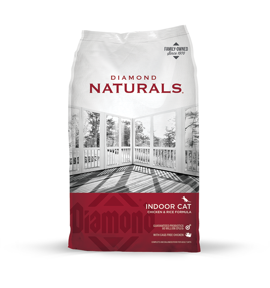 Diamond Naturals Indoor Cat 6lb. Bag