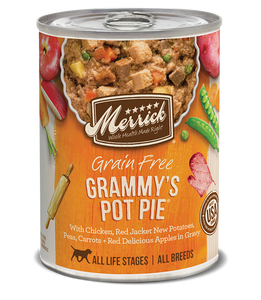 Grammys Pot Pie 13.2oz Dog Merrick