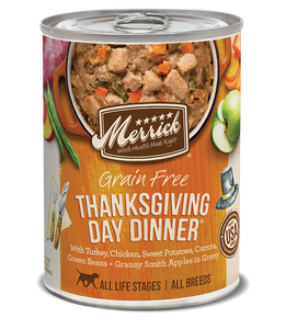 Thanksgiving  Day Dinner 13.2oz Dog Mrr