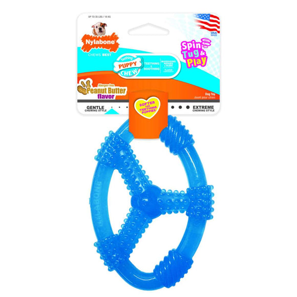Puppy Chew Spin Tug & Play Toy