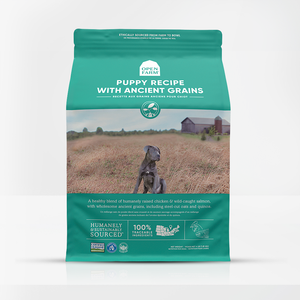 Open Farms High-Protein Puppy Food with Ancient Grains