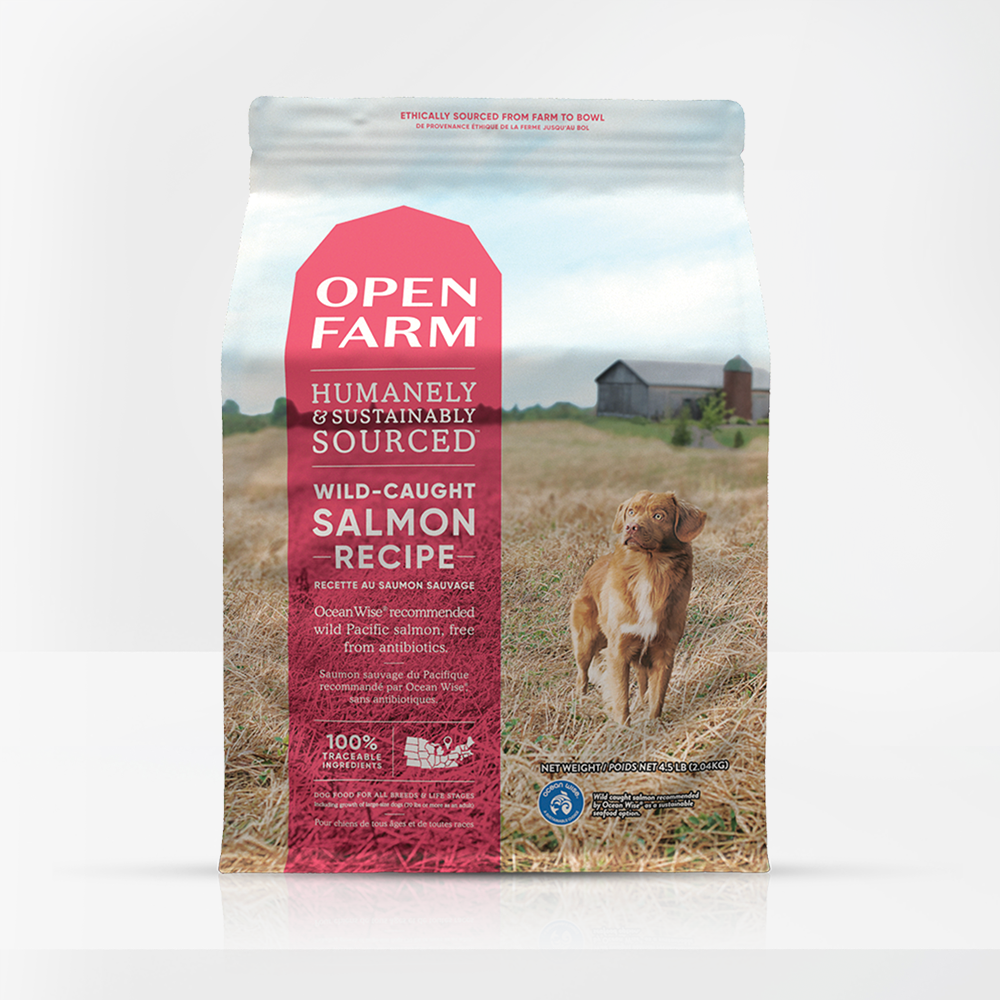 Open Farms Wild-Caught Salmon Grain Free Dry Dog Food 4.5LB
