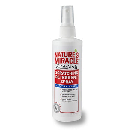 Nature's Miracle Just for Cats Scratching Deterrent Spray