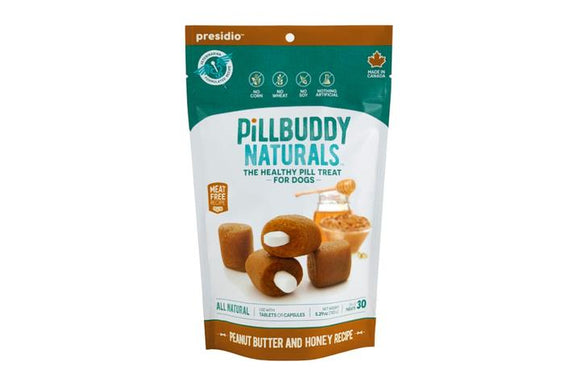 Pill Buddy Naturals P Butter & Honey 30c
