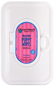earthbath Puppy Groom Wipes 100ct