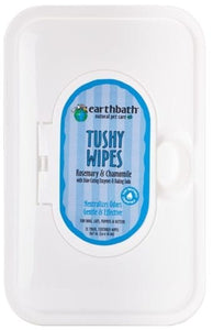 earthbath Tushy Wipes 72 count