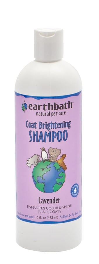 earthbath lite Color Coat Brightener Shampoo 16 oz.