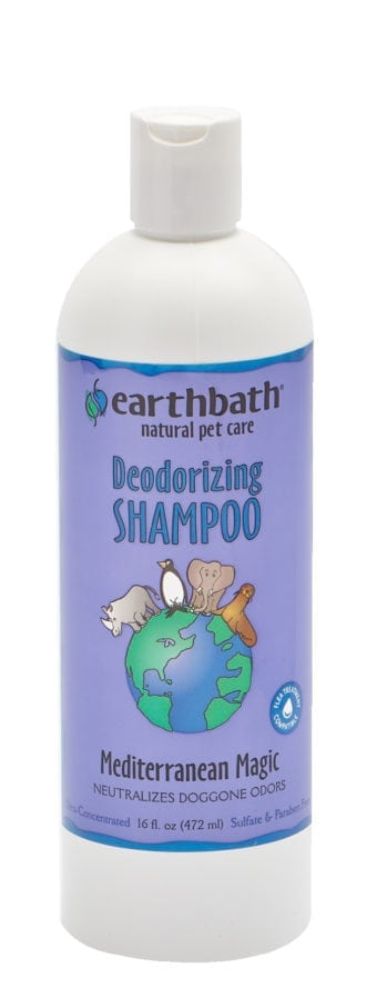 earthbath Mediterranean Shampoo 16 oz.