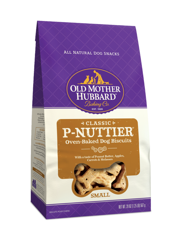 P-Nuttier Small Biscuits 20oz OMH