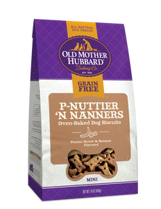 P-Nuttier 'N Nanners Biscuits 20oz OMH