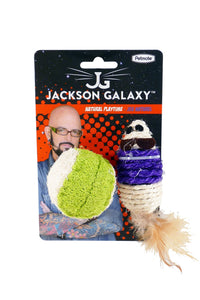 Jackson Galaxy Nat. Playtime Mouse/Ball