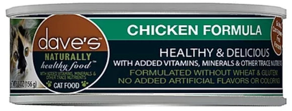 dave's Chicken Formula 5.5oz, Cat