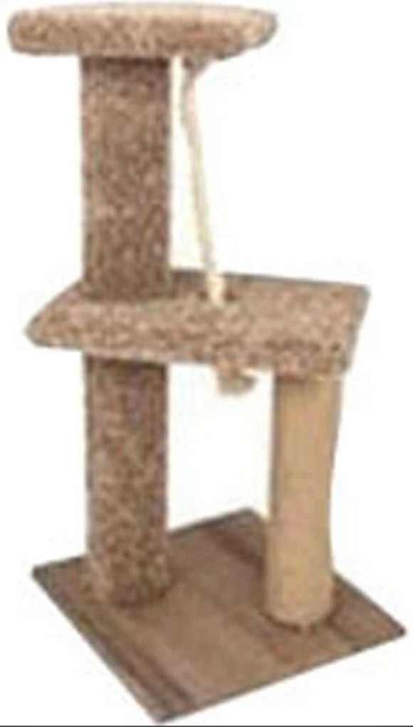 2 Story Tease Cat Furniture w/Laminate Base