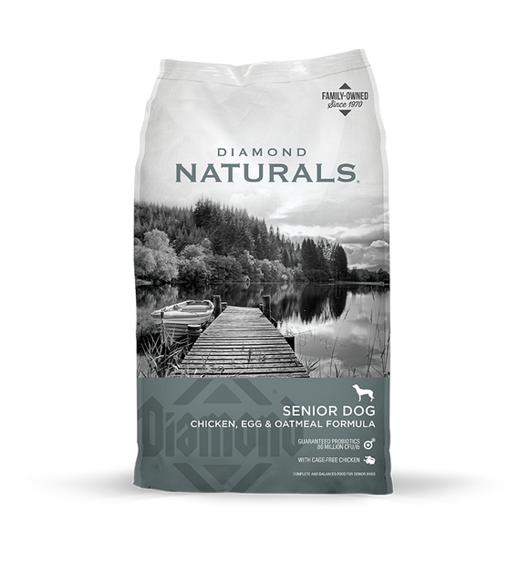 Diamond Naturals Senior Dogs 8y+ 18#