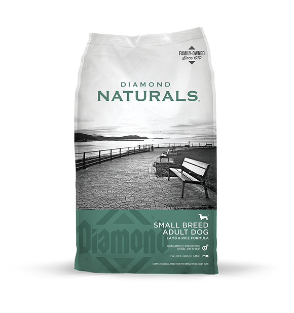 Diamond Naturals Small Breed Lamb 18#