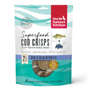 Honest Kitchen Cod Crisps Blueberries 3o