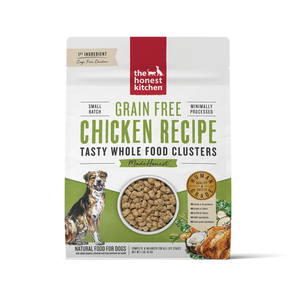 Honest Kitchen GF Chickn Cluster 1# Dog
