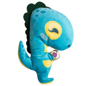 Snugarooz Tea-Rex Plush Dog Toy