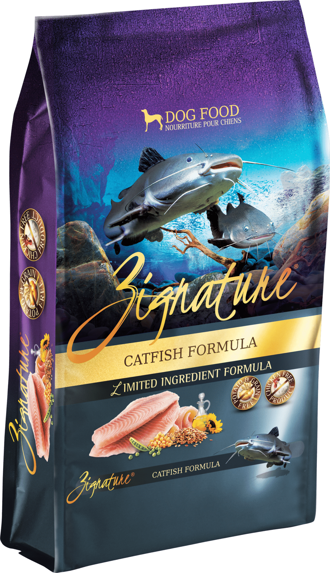 Zignature Catfish Formula 4# Dog