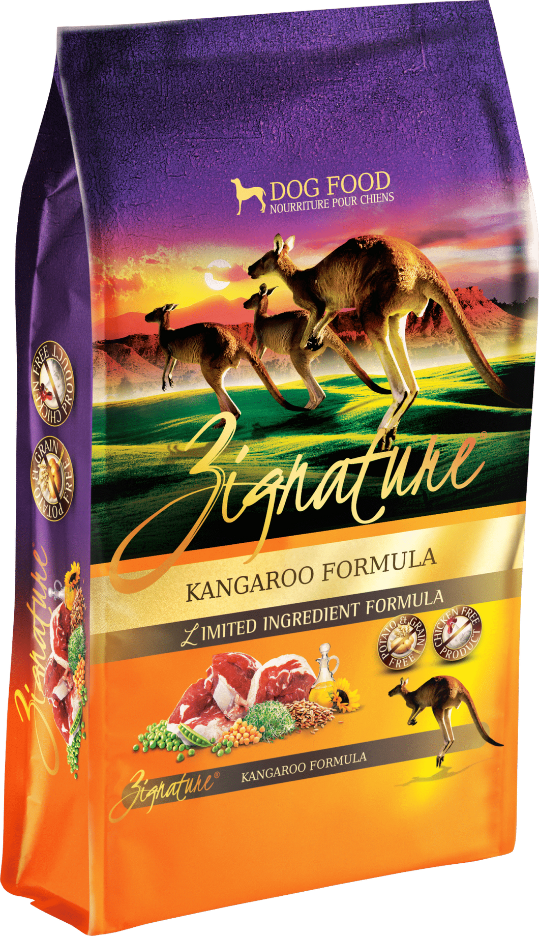 Zignature Kangaroo Formula 12.5# Dog