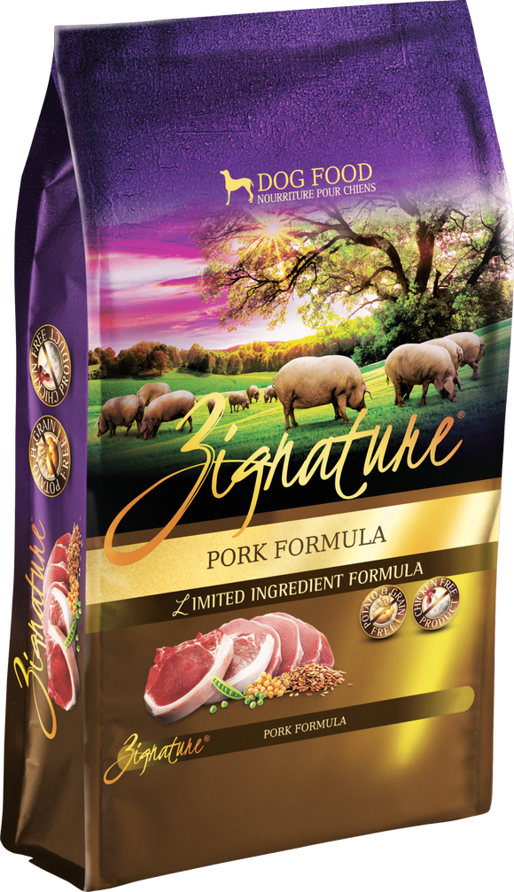Zignature Pork Formula 4# Dog