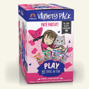 b.f.f. Play Party Variety Pack 12/3oz Pc
