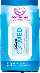 OxyMed Soothing All-Purpose Wipes 50ct