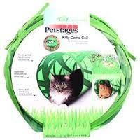 Kitty Camo Coil Play Tunnel Cat Toy