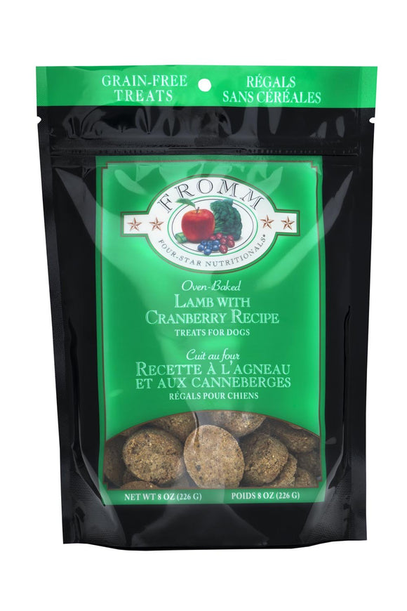 Fromm 4 Star Lamb Recipe Treats 6oz.