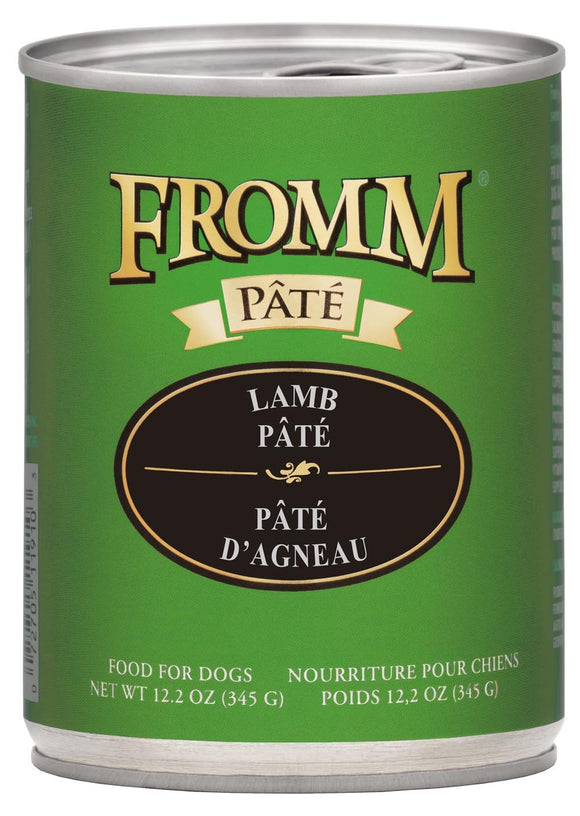 Fromm Gold Lamb Pate' Dog 12.2oz
